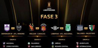 Dos eliminados de la fase III en Libertadores iran a Sudamericana
