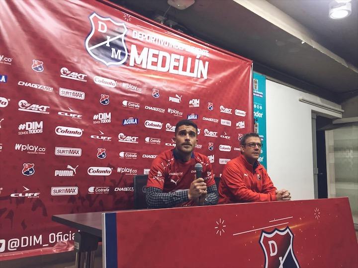 Adrian Arregui fue presentado en Medellin