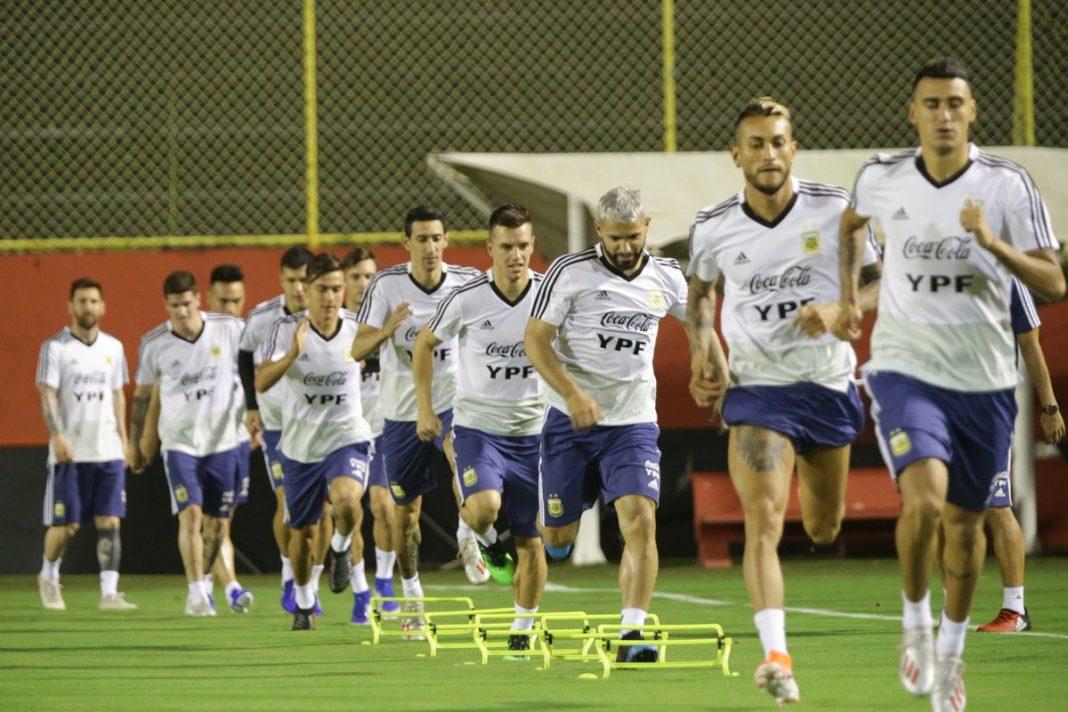 Argentina ultima detalles para enfrentar a Colombia