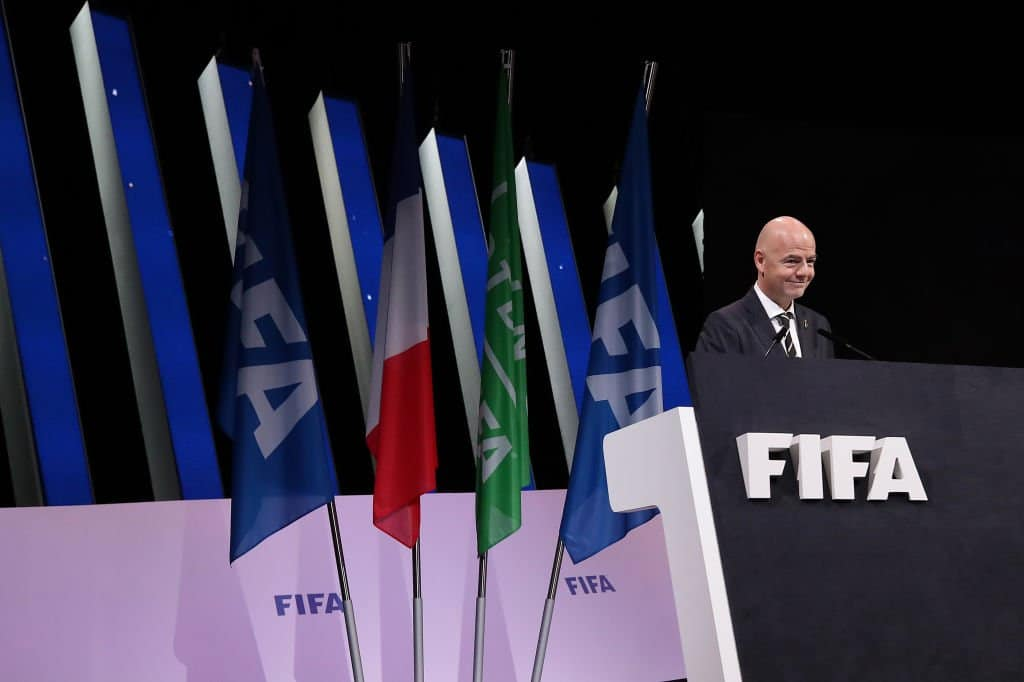 Gianni Infantino fue reelegido como presidente de la FIFA