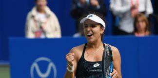 Maria camila osorio esta en las semifinales del Roland Garros