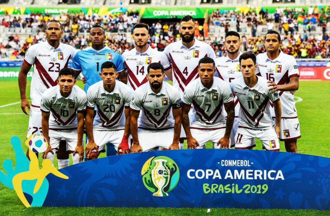 Venezuela esta en cuartos de Copa america