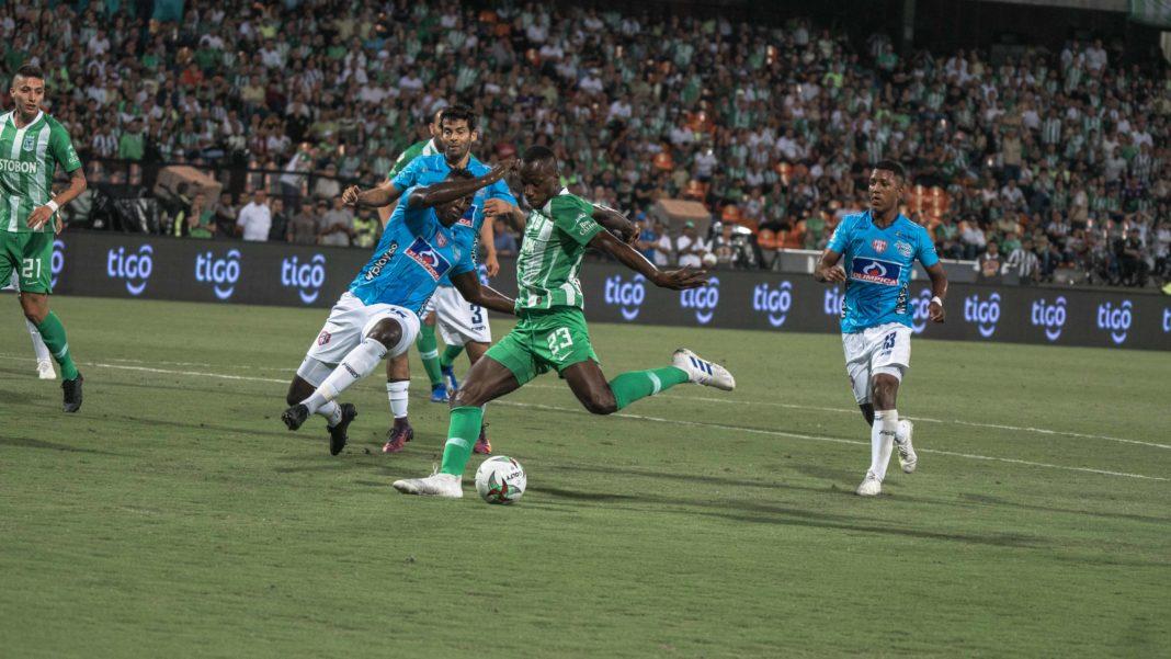 Baldomero anoto su primer gol con nacional